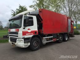 100 Garbage Truck For Sale Used DAF Cf75250 Garbage S Recycling S Year 2002