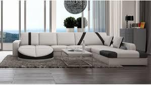 design canapé canapé design panoramique d angle en cuir utena gdegdesign