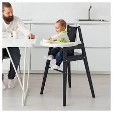 100 Wooden High Chair With Removable Tray BLMES Chair With Tray IKEA