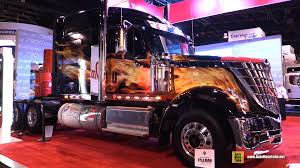 2015 International Lonestar Sleeper Truck With Custom Wrap ...