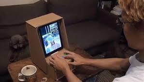 IPad Cardboard Arcade Cabinet
