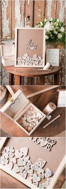 Rustic Laser Cut Wood Wedding Guest Book All You Need Is Love