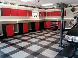 cool racedeck garage floor design in home garage garage