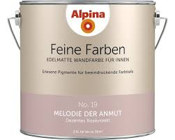 alpina wandfarbe feine farben melodie der anmut 2 5 l