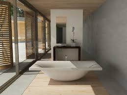 kreis design beton im badezimmer faszinierend modern und