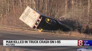 100 Truck Driving Schools In Ct All Lanes Of Terstate 95 South In Milford Back Open Following