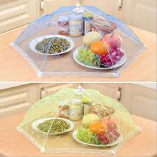 table cuisine fly helpful food cover foldable umbrella style prevent fly mosquito