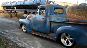 100 53 Chevy Truck For Sale Tight Fittin Jeans 19 Chevrolet 3100 Hot Rat Street Rod Patina Shop FOR SALE