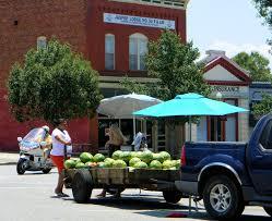 100 Truck Town Ga Monticello GA Town Square Watermelon Stand Jul2014 Georgia