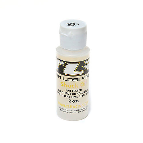 Team Losi Racing TLR74009 Silicone Shock Oil, 37.5wt, 2oz