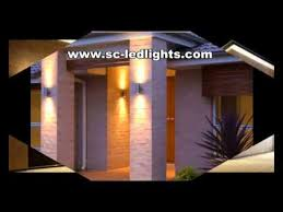 led outdoor up and wall light