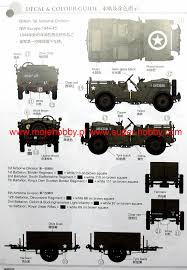 British Airborne Troops Riding In 1/4 Ton Truck & Trailer Bronco CB35169