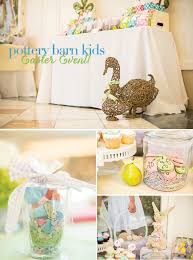 Party Feature} Pottery Barn Kids Easter Event