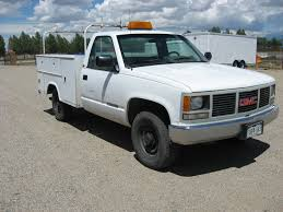100 Ton Truck 1993 GMC 34 2500 Utility City Of Alamosa