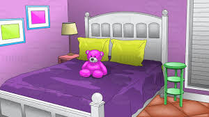 young girls bedroom background cartoon clipart clip art library