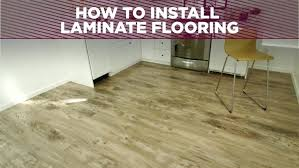 How To Install Subfloor A Laminate Floor Installing Flooring On Plywood Cost