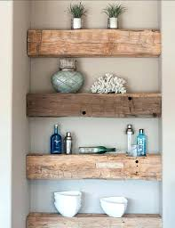 Country Crafts Ideas Primitive Craft Rustic Kitchen Shelving Home Decorating Do It Yourself