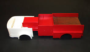 100 Model Fire Truck Kits 125 Scale Model Resin American LaFrance Open Cab Firetruck