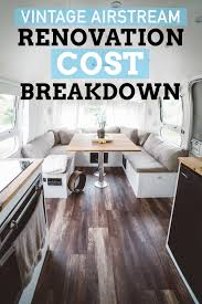 100 Airstream Interior Pictures How Much Did Our Restoration Cost Hopscotch The