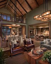 Rustic Contemporary Living Room Design Country
