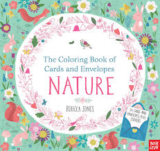 The Coloring Book Of Cards And Envelopes Nature Amazoncouk