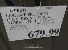 Yardline Shed Assembly Manuals by Backyard Storage Sheds Costco Home Outdoor Decoration