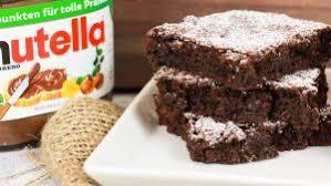 saftige nutella brownies mit nur 3 zutaten cook bakery