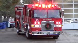 San Diego Fire Station 35 Responding (Compilation) - YouTube