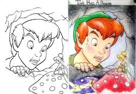Curiosities Corrupted Disney Coloring Books