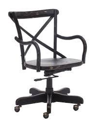 chaise de bureau antique chaise de bureau union square noir antique zuo 98030 mobilier enora