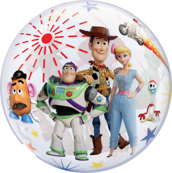 Qualatex 92612 Toy Story 4 22 inch Bubble Balloon