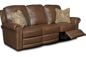 Broyhill Laramie Sofa And Loveseat by Jasmine Leather Or Performance Leather Reclining Sofa Power