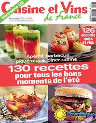 cuisines et vins de cuisine et vins de hors serie ete 2013 no 26