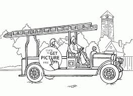 Fire Truck Coloring Pages Printable | Coloring For Kids 2018