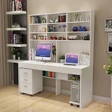 computer schreibtisch mit eine einfache moderne desktop bücherregal schreibtisch bücherregal schlafzimmer schreibtisch kombiniert inländischen