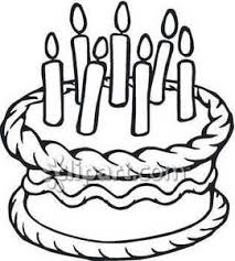270x300 Free Clip Art Black And White Birthday Cake Clipart