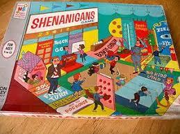 1964 Vintage Shenanigans Board Game Milton Bradley Carnival