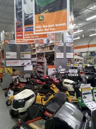 Lawn mowers home depot stores