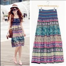 popular long bohemian skirt buy cheap long bohemian skirt lots