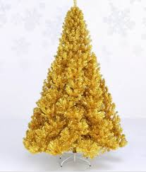 Free Shipping Event Party Christmas Xmas Tree 240cm Quality Encryption Golden Pine Artificial In Trees From Home Garden On Aliexpress