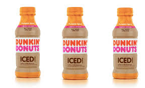Dunkin Donuts Bottled Pumpkin Spice Iced Coffee Is Coming For An On The Go Sip