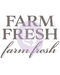 100 Fresh Home And Garden FARM FRESH And Rub On Transfer Iron
