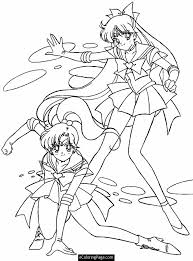 Fresh Anime Printable Coloring Pages 36 For Kids With