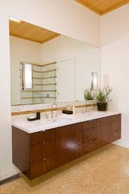 duravit vanity bathroom contemporary with dark stained wood double
