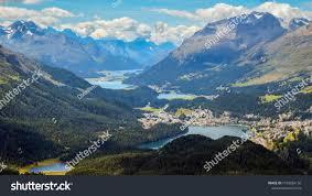 100 Muottas Muragl Panoramic View Engadin Switzerland Stock Photo Edit