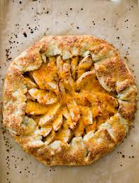 New England Apple Cheddar Galette