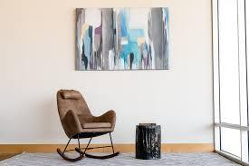 100 Cowboy In Rocking Chair Grid Mid Century Modern Furniture