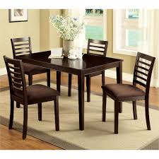 Big Lots Kitchen Table Chairs by Venetian Worldwide Eaton I 5 Piece Espresso Dining Set Cm3001t 5pk