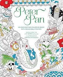 Peter Pan Coloring Book By Fabiana Attanasio Amazon