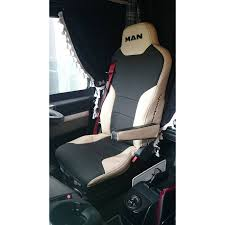 100 Truck Seat Covers MAN TGA ECO LEATHER SEAT COVERS